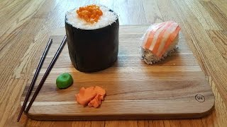 Mini Sushi Cake! (Inspired by How To Cake It)