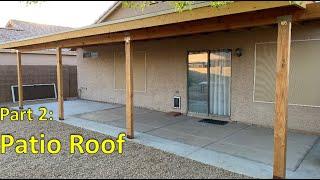 DIY Patio Part2 - Framing Roof