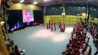 preview picture of video 'Frogsmas 2014 - Žabice O. Š. Brezovica, cheerleading'