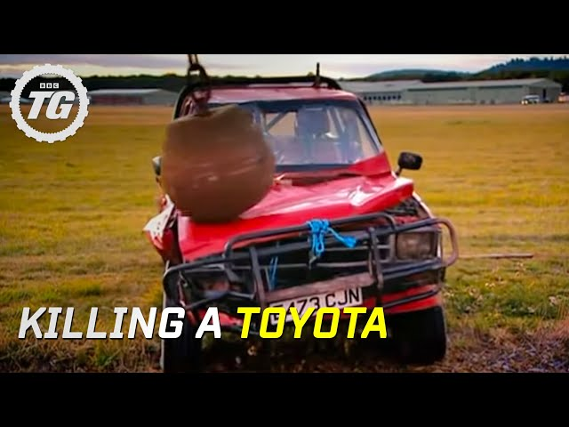 Killing a Toyota Part 1 - Top Gear - BBC