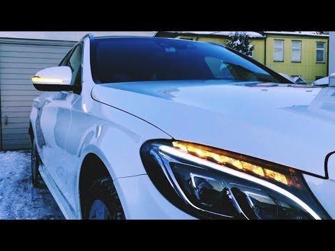 Mercedes C-Klasse 205 | LED Dynamic Blinker | Dynamische Spiegelblinker | dynamic turn signal