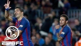 Luis Suarez is struggling with life after Neymar | ESPN FC