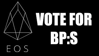 How to vote for EOS Block Producers