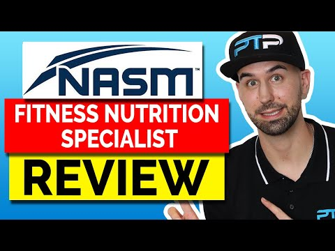 NASM Fitness Nutrition Specialist (FNS) Certification Review ...