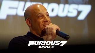 Furious 7 - Fan First Screenings (HD)