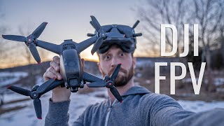 DJI FPV Real-World Test (Review, Battery Test, & Vlog)