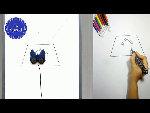 Маленький робот-бабочка DrawBo шаг зашагом научит детей рисовать