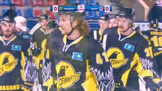 Обзор четвертого матча «Темиртау» - «Арлан»