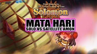 Mata Hari  - (Fate/Grand Order) - Solomon - Mata Hari solo vs Sattelite Amon - Fate/Grand Order