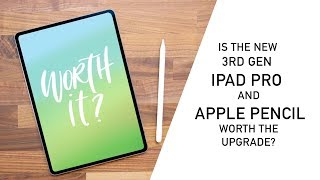 New iPad Pro 2018 - Worth the Upgrade? 3rd Gen vs 2nd Gen Comparison and Review