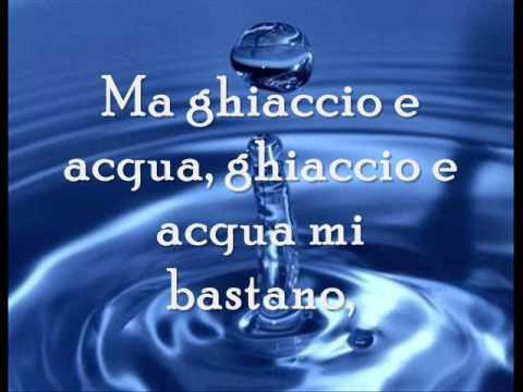 Acqua E Ghiaccio Di Emma Marrone Significato