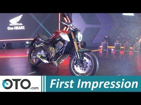 Honda CB650R 2019 | First Impression | Big Bike Seharga Nissan Livina Teranyar | OTO.com