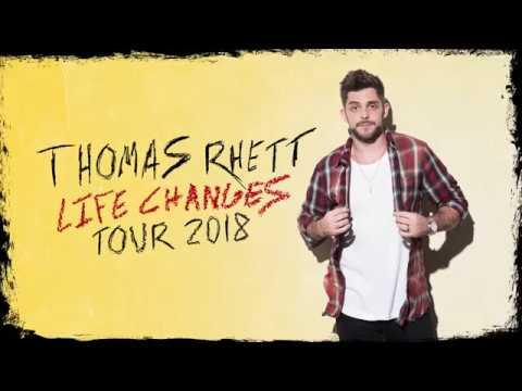 Thomas Rhett's, Life Changes Tour 2018