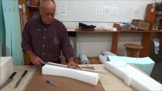 Upholstery Basics: How To Cut Foam...With a Bread Knife!