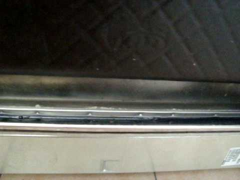 Undichte Spülmaschine der Firma Wirpool genau nach 2 Jahren Garantie defekt! Video 2