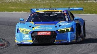 race-media.tv Onboard Classix: Audi R8 LMS Max Edelhoff 12H Mugello 2017