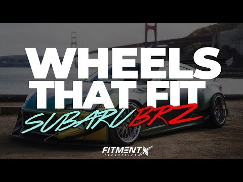 What Wheels Fit Scion FRS/BRZ (2013 - 2017)
