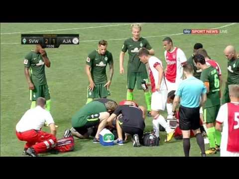 Abdelhak Nouri Collapses Ajax 2-1 Werder Bremen