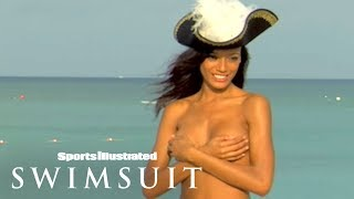 Selita Ebanks & Daniella Sarahyba Show Off Their Sexy Pirate 'Booty' | Sports Illustrated Swimsuit
