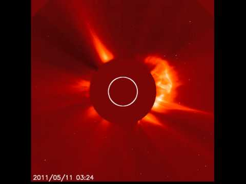 Kuyruklu yıldızın Güneş'e çarpma anı