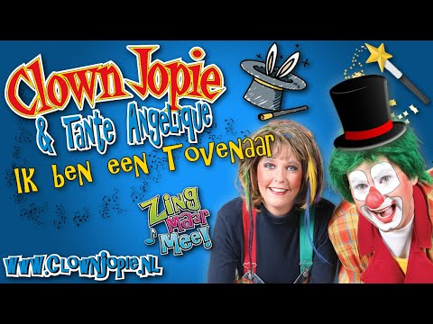 Ik ben een Tovenaar - Clown Jopie en Tante Angelique | JB Productions