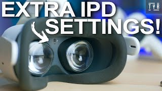 The Oculus Quest 2 Extra IPD Settings! Glare and Ghosting Solved!