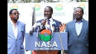 Norman Magaya:We have a range of options, Swearing in Raila Odinga is one of them