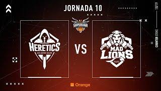 Team Heretics VS MAD Lions E.C.   Jornada 10   Temporada 2018/2019
