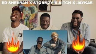 Ed Sheeran - Take Me Back To London (Sir Spyro Remix) [feat. Stormzy, Jaykae & Aitch] Reaction