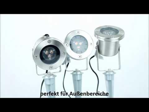 GARDEN LIGHTS Gartenstrahler CATALPA - SET von Techmar - Produktvideo / 360°-Ansicht