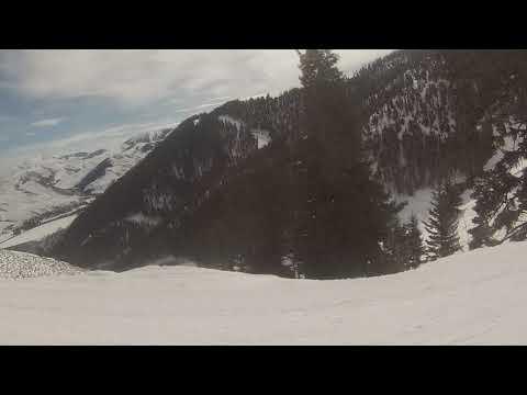 Esquiando Bald Mountain 1