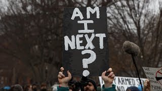 Students protest outside White House after deadly school shooting