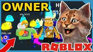 PLAYING WITH THE OWNER OF ROBLOX ICE CREAM SIMULATOR!! *Underworld Chest Update*