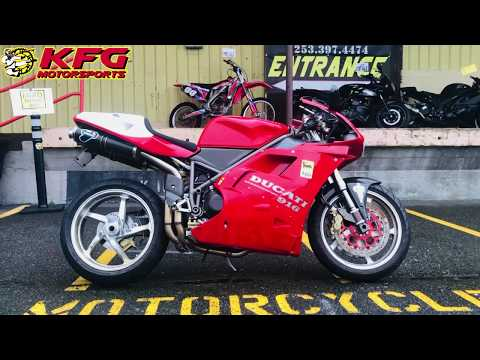 1995 Ducati 916 in Auburn, Washington - Video 1