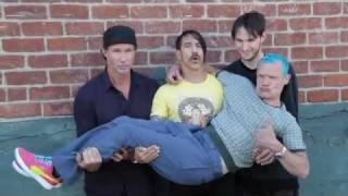 Red Hot Chili Peppers - Photo Shoot [Official Behind The Scenes]