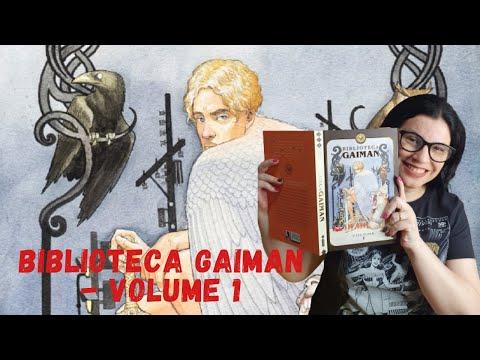 Biblioteca Gaiman - Volume 1 ?edição belíssima?de Neil Gaiman