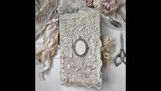 Shabby Chic Vintage LaceJournal