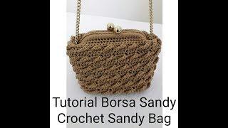How To Crochet A Purse ฟรวดโอออนไลน ดทวออนไลน คลป