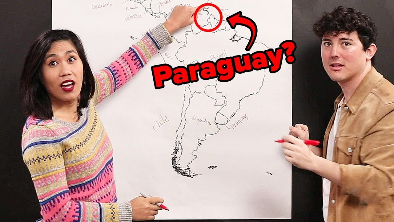 Americans Identify South American Countries thumbnail
