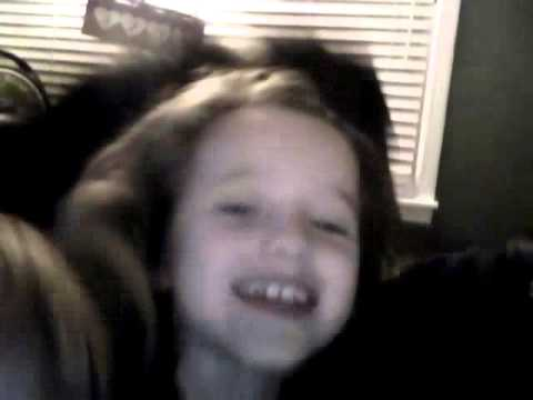Kids playing on webcam