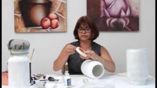 Programa Artesanal - Pintura em Vidro com Tinta Lousa