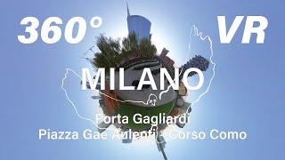 Porta Garibaldi -Corso Como- Piazza Gae Aulenti 360° VR映像