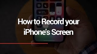 How to Record your iPhone