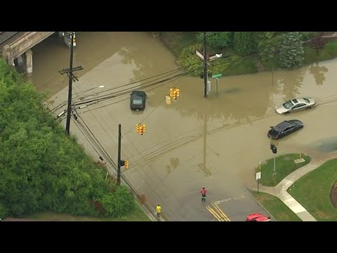 Intense rain overnight causes floods across Metro Detroit