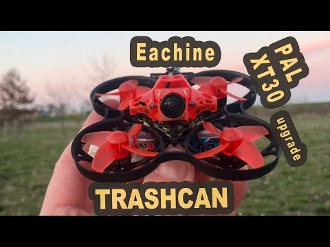 Eachine Trashcan upgrade XT30 EOS2 PAL GNB 2S 80C