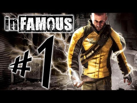inFAMOUS - Parte 1: Cole MacGrath!!! [ Playstation 3 - Playthrough ]