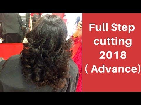 Full Step Cutting 2018 Advance Step Haircut For Haircut Tutorial