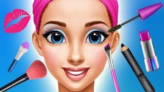 Fun Kids Care Games - Princess Makeup Dress UP Makeover Gloria Beauty Salon Kids & Girls Games