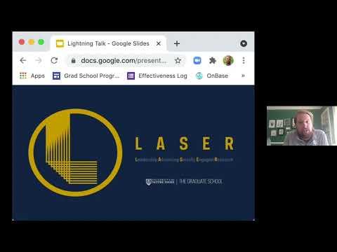 Dr. John Lubker, describes the LASER program