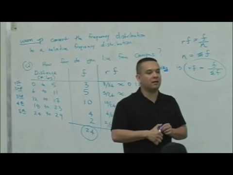 Statistics Lecture 2 (part 1)